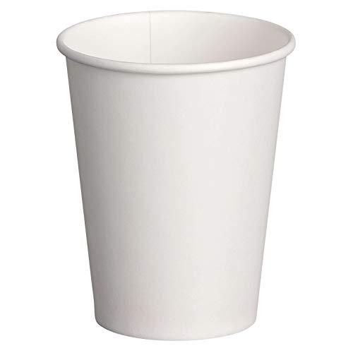 100 Stk. Heiß- und Kaltgetränkebecher weiß, Pappe beschichtet, 8oz., 200 ml / Dieser hitzebeständige Premium-Pappbecher kann sowohl als Heißgetränkebecher - als auch für Kaltgetränke verwendet werden. Empfohlener Temperaturbereich: -20°C bis +90°C. Ideal für alkoholfreie Getränke aller Art.