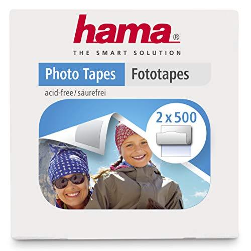 Hama Fototapes 1.000 Stück (2 x 500 Fotokleber, doppelseitig selbstklebende Klebepads, Klebepunkte geeignet für Alben)
