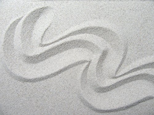 Xabian 1kg Dekosand hell grau   feiner Beach Sand