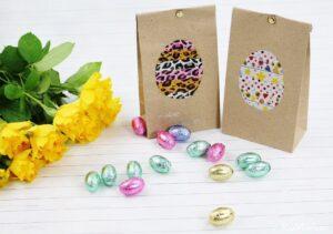 schnelle DIY Idee: kleine Ostergeschenke kreativ verpacken