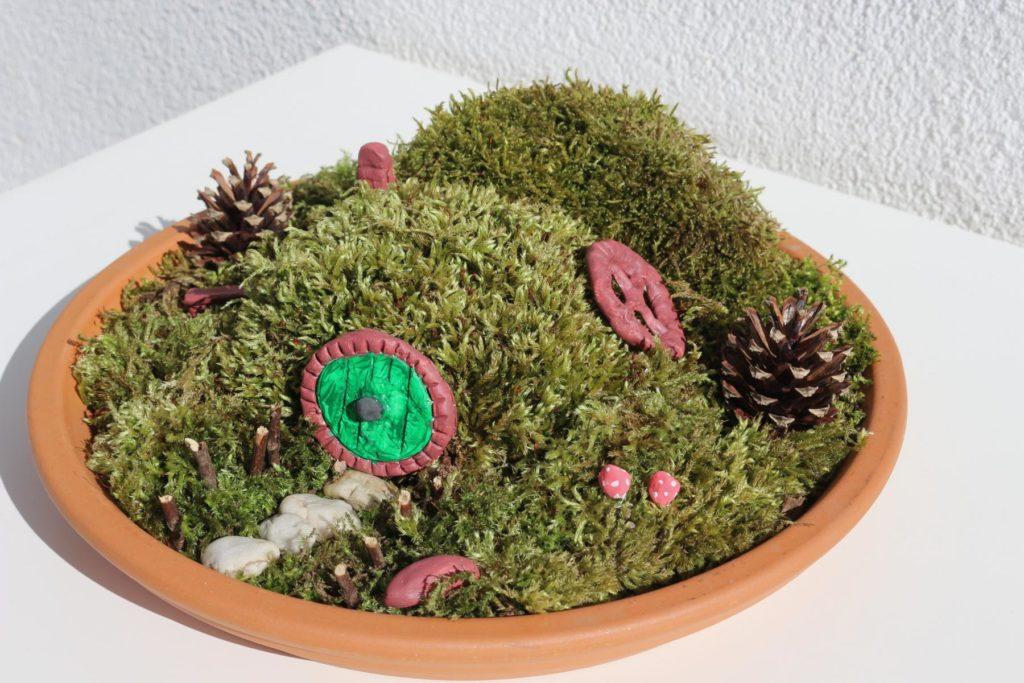 DIY Hobbit Miniaturgarten basteln