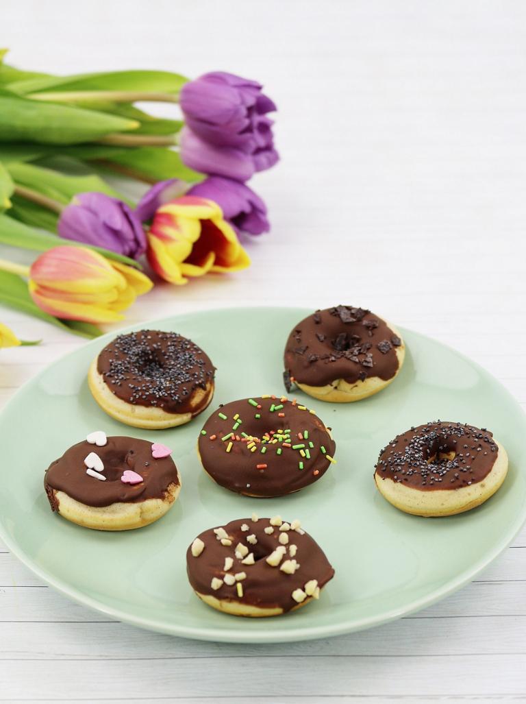 Donuts aus dem Donut Maker - einfaches Rezept