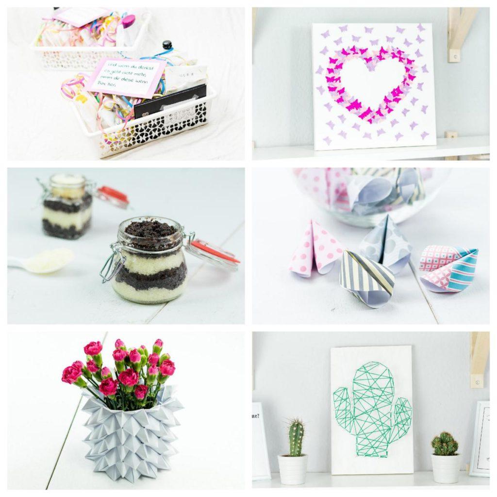 Geschenke basteln - DIY Geschenkideen