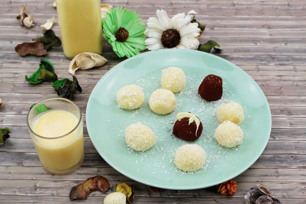 Eierlikör und Eierlikör-Pralinen selber machen | 2 leckere Rezeptideen