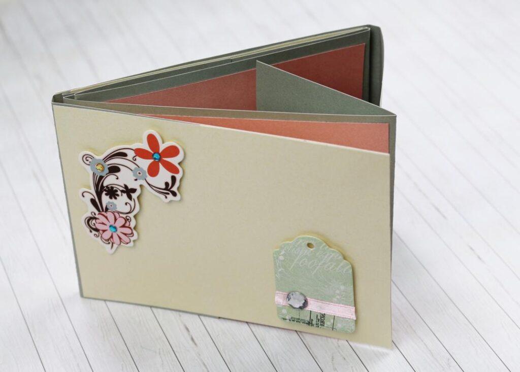 DIY Flip-Flap Fotoalbum