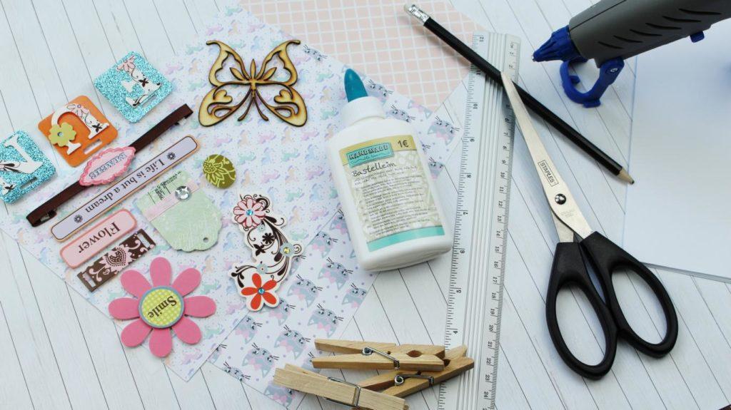 DIY Notizbücher ganz einfach selber machen - diese Materialien brauchst du
