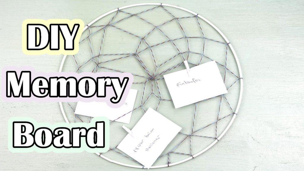 DIY Memory Board basteln