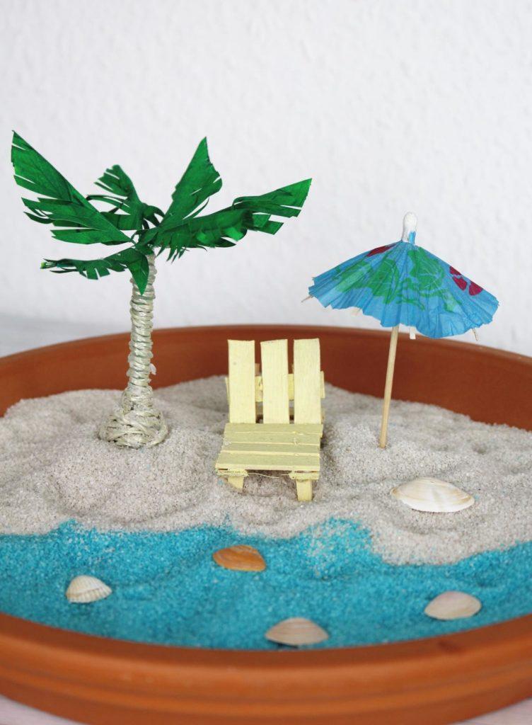 Miniaturstrand