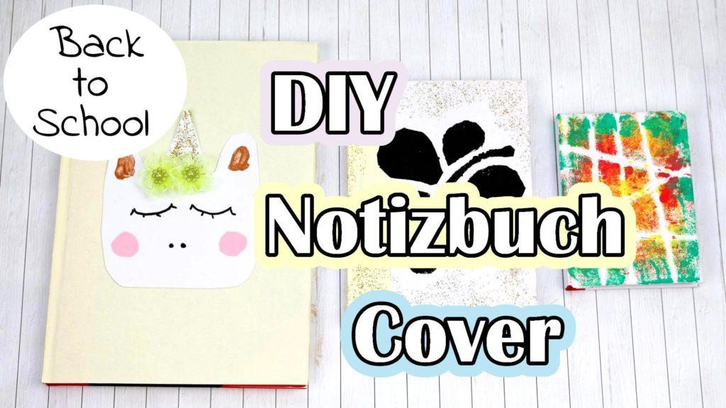 DIY Notizbuch Cover gestalten