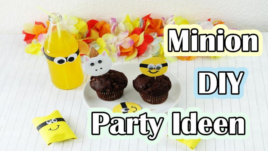 Minion Muffin Topper basteln