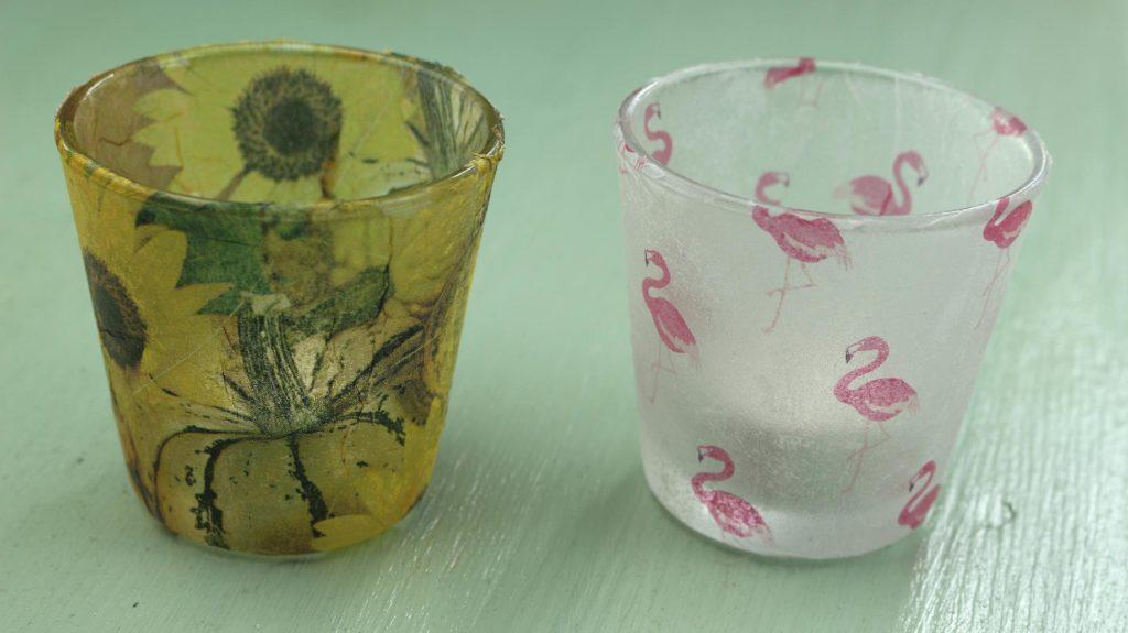 Windlicht gestalten glas amazing kostenlose partylicht for Blumentopfe basteln