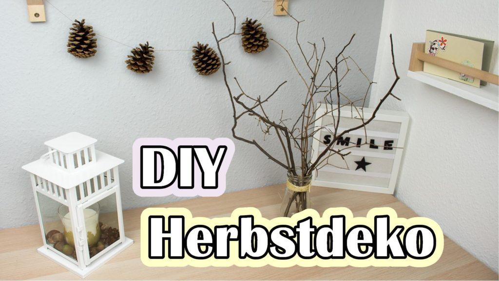 DIY Herbstdeko basteln - Video Anleitung