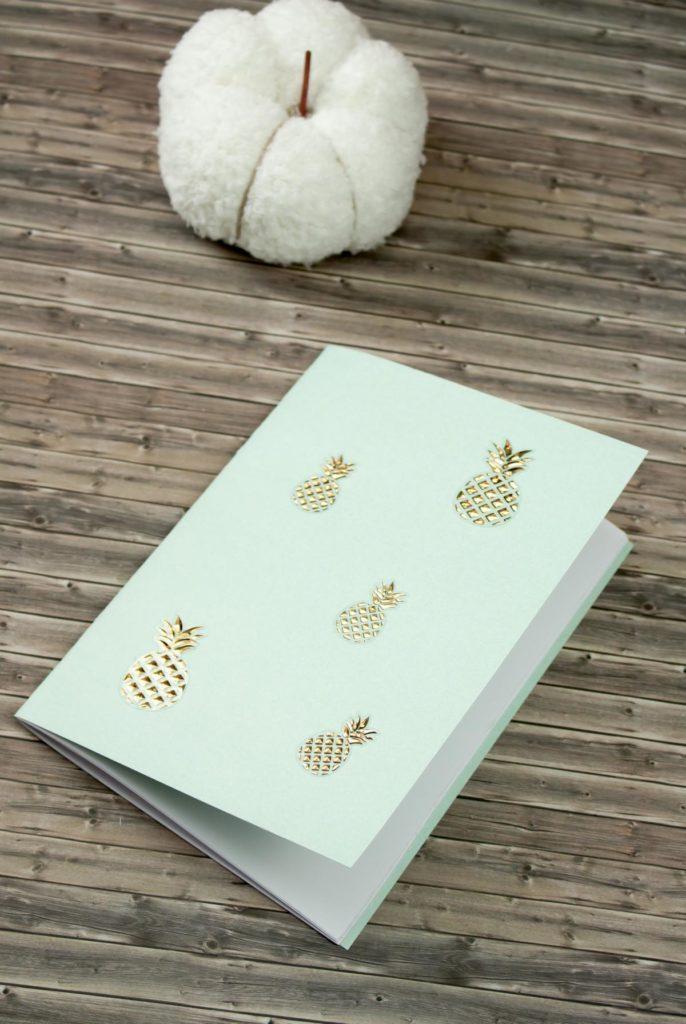 DIY Notizbücher ohne Kleber basteln