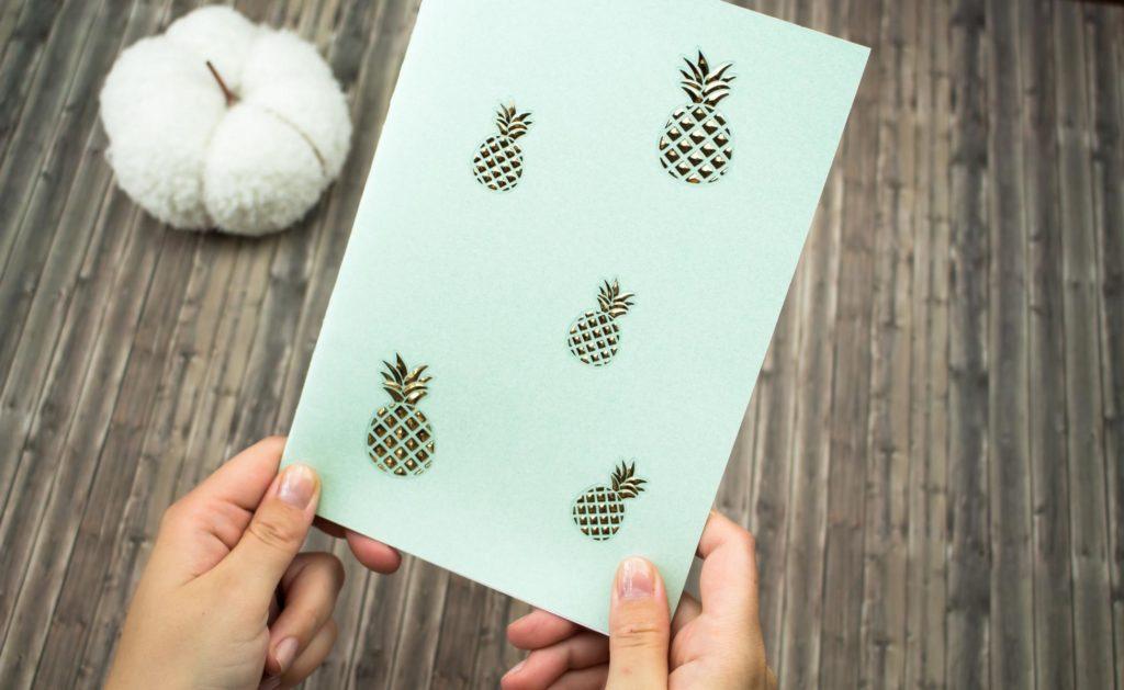 DIY Notizbuch ohne Kleber basteln