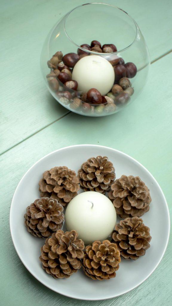 DIY Herbstdeko mit Naturmaterialien gestalten - einfach und günstig