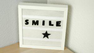 DIY Lightbox basteln – schöne DIY Deko Idee