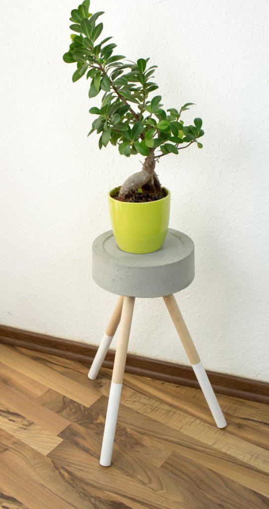 DIY Beistelltisch aus Beton basteln | Beton Hocker