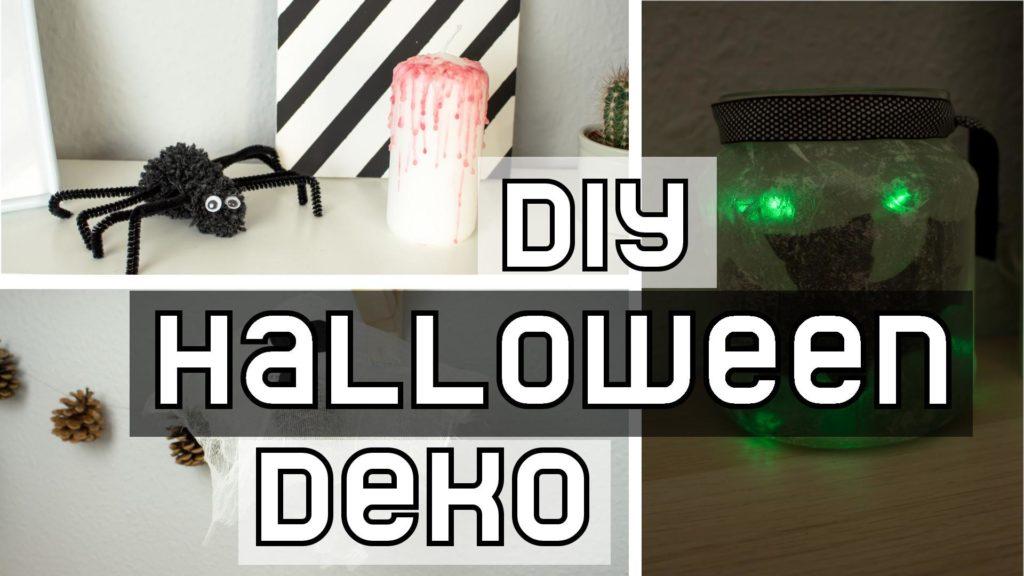 DIY Halloween Deko basteln