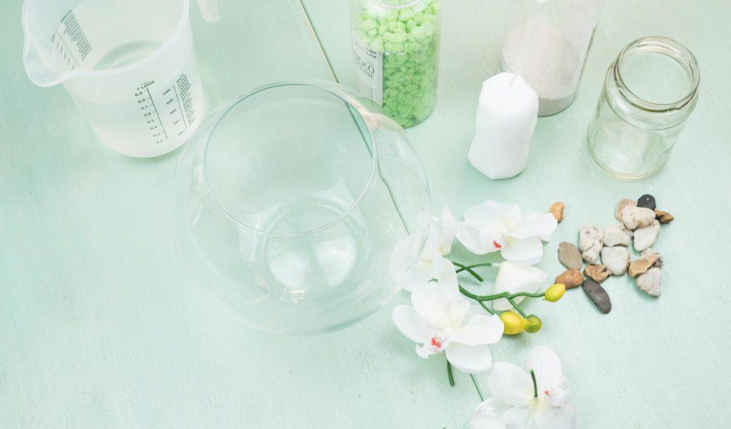DIY Wasserkerze Nr. 1 - Material