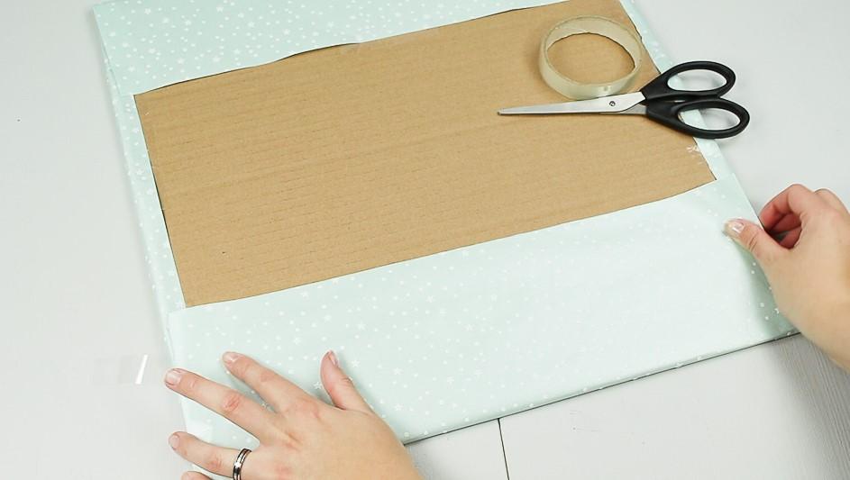 DIY Adventskalender basteln Schritt 2