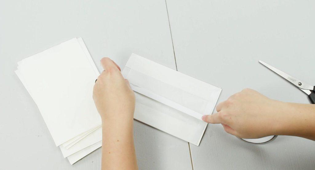 DIY Deko Stern basteln - Schritt 1