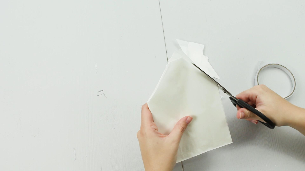 DIY Deko Stern basteln - Schritt 4