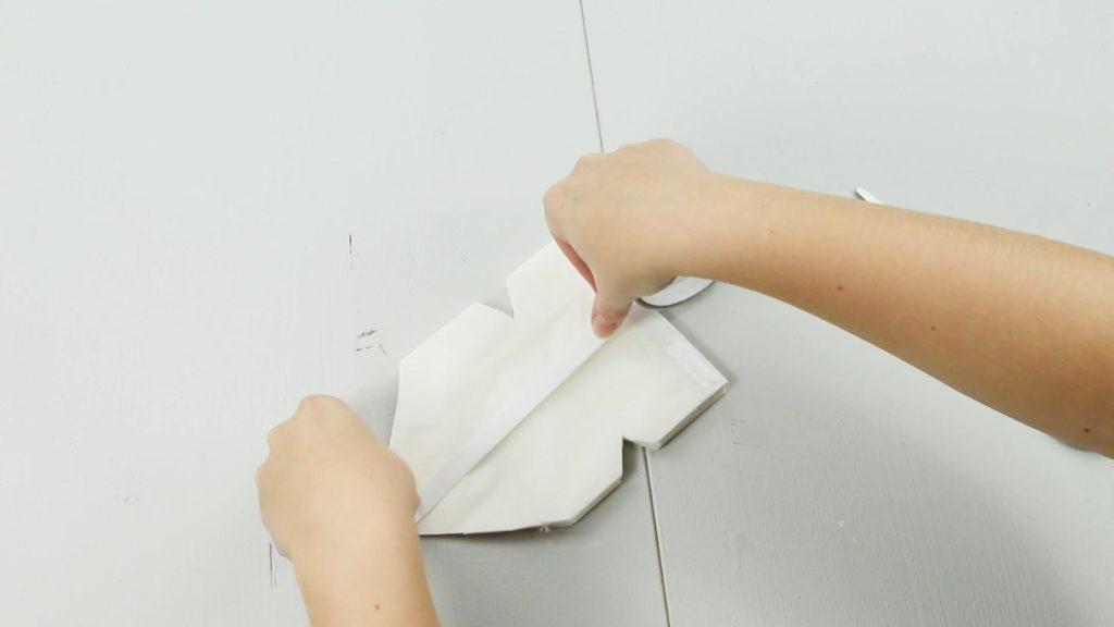 DIY Deko Stern basteln - Schritt 5