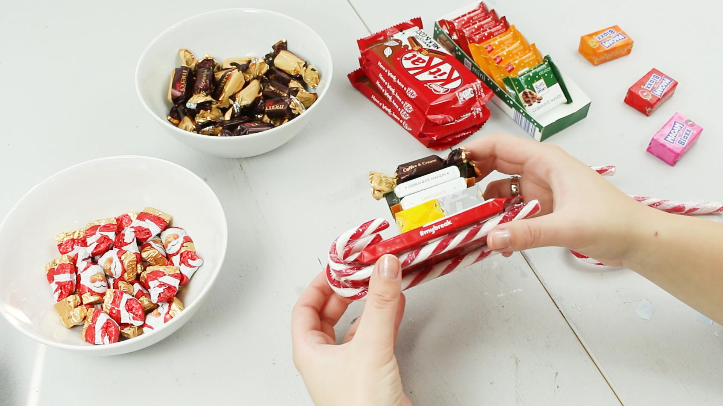 DIY Süßigkeiten basteln - Schritt 2