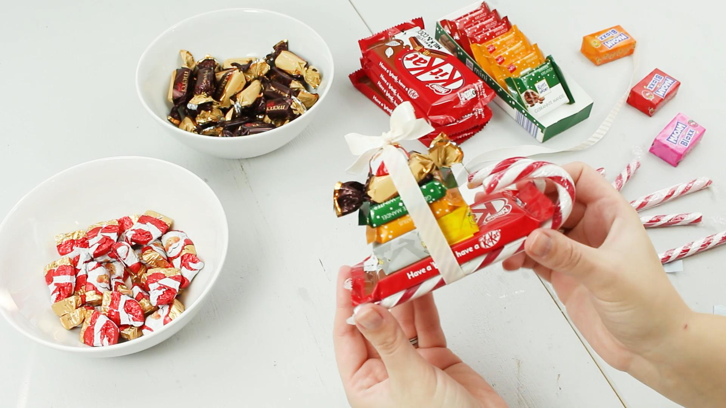 DIY Süßigkeiten basteln - Schritt 3