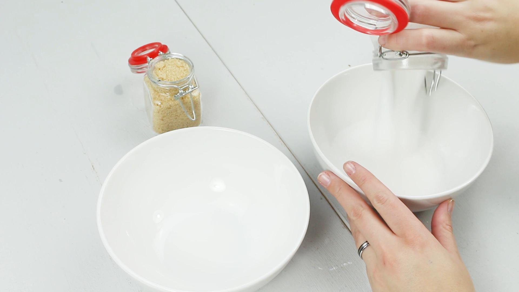 DIY Winter Body Scrub - Schritt 2