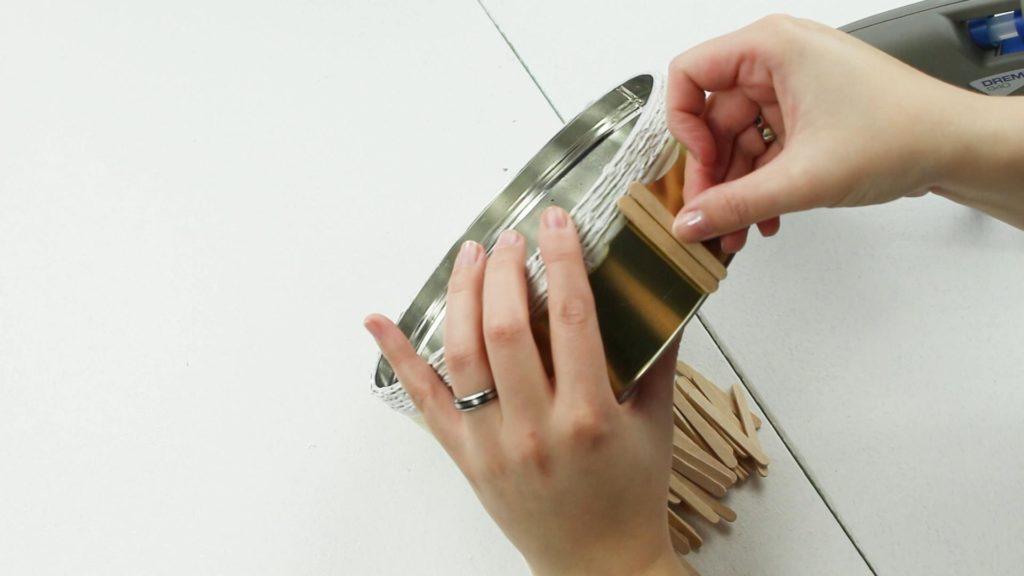 DIY Blumentöpfe selber machen - Var.2 Schritt 3