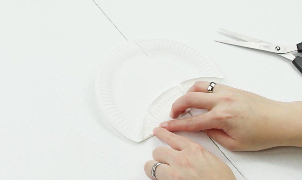 DIY Box aus Pappteller - Schritt 3