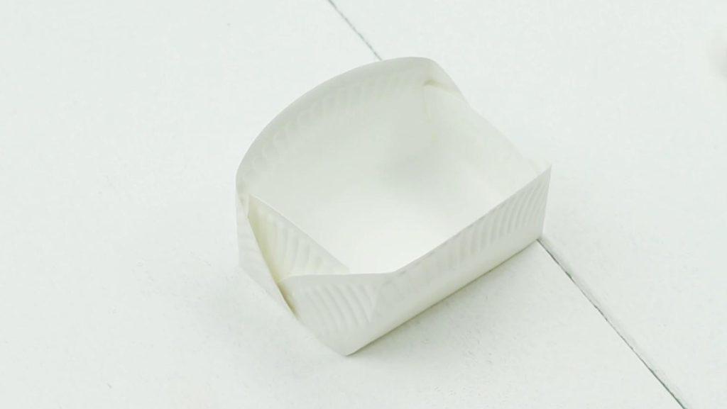 DIY Box aus Pappteller - Schritt 4