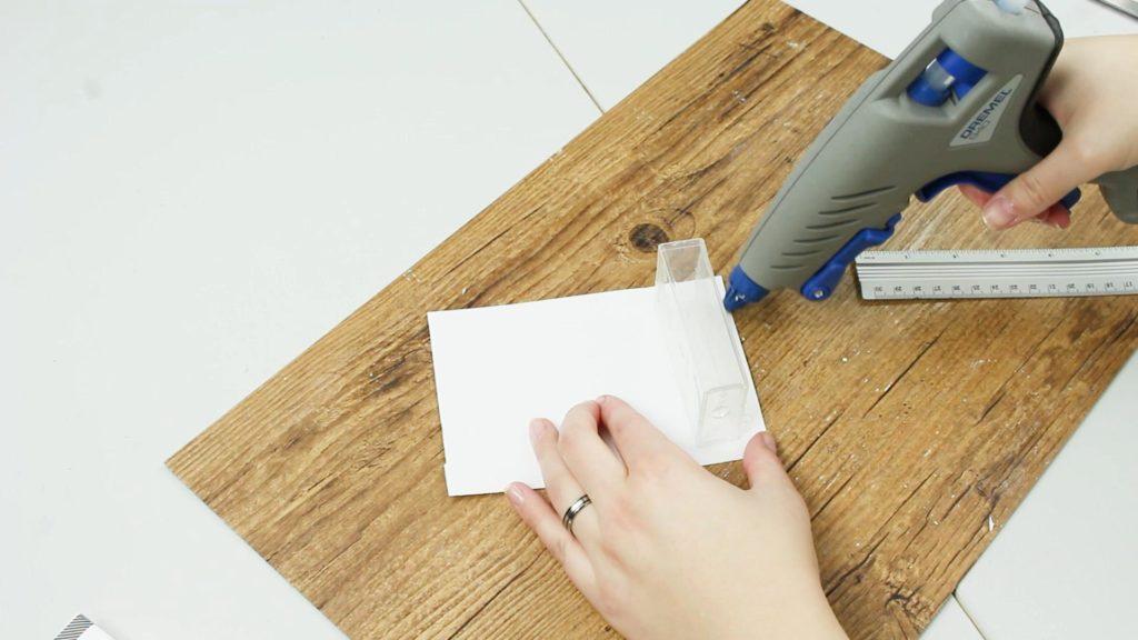 DIY Haushaltsplaner basteln - Schritt 2