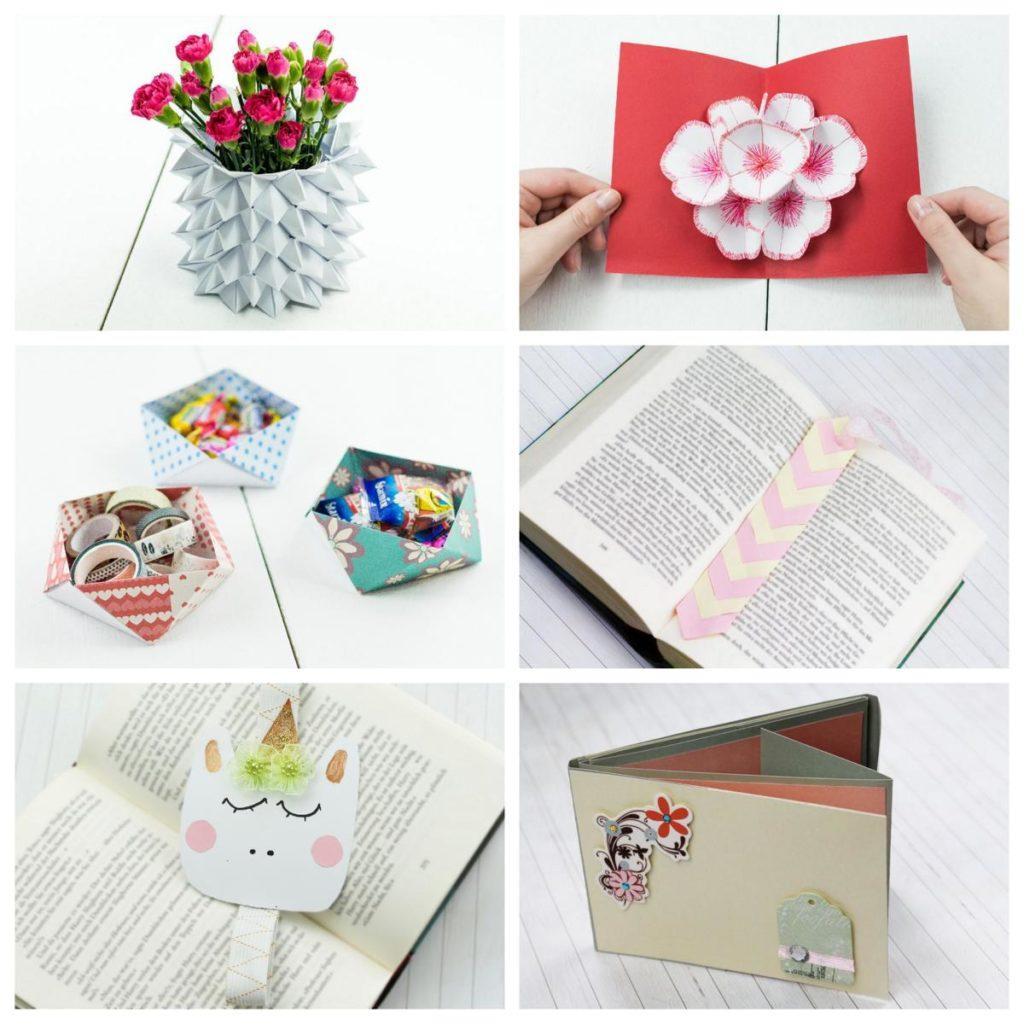 DIY Ideen aus Papier - Basteln mit Papier