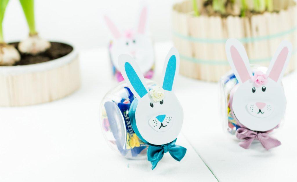 DIY Ostergeschenk im Glas basteln - schöne DIY Geschenkidee zu Ostern