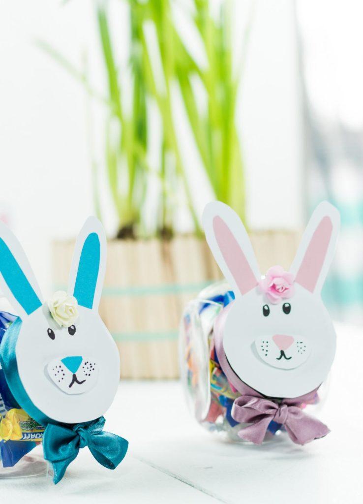 DIY Ostergeschenk im Glas basteln - schöne DIY Geschenkidee zu Ostern, Geschenk verpacken