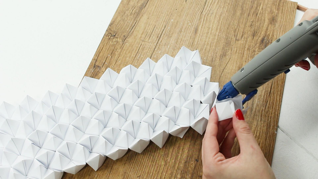 Origami Vase - Schritt 2