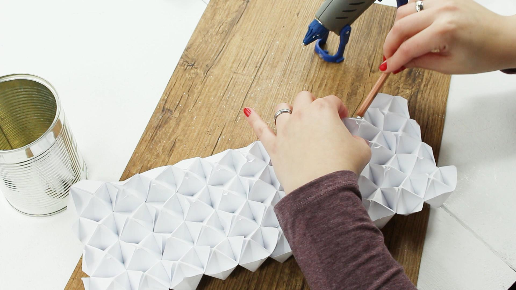 Origami Vase - Schritt 3