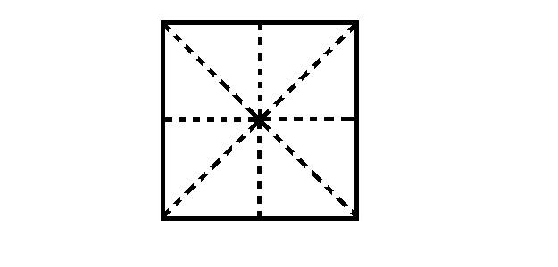 Origami Vase - Schritt 1