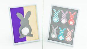 DIY Osterbilder ganz einfach selber machen – 2 Varianten