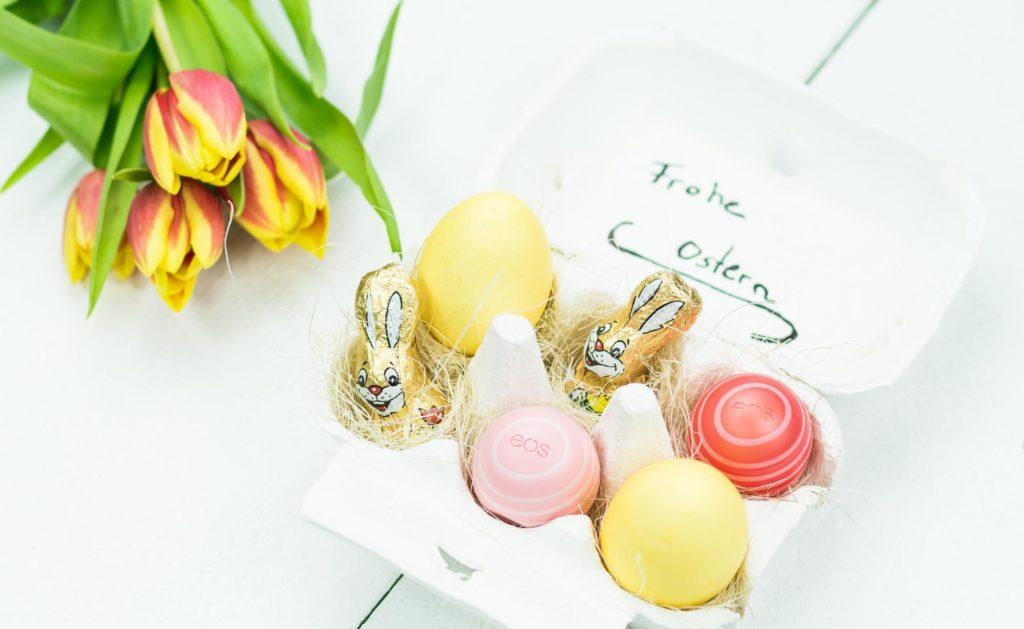 DIY Osternest im Eierkarton basteln - schöne Geschenkidee inspiriert von eos