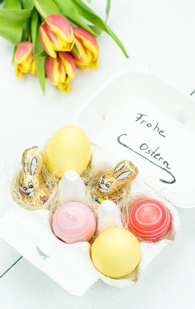 DIY Osternest im Eierkarton basteln - eine tolle, individuelle Geschenkidee zu Ostern