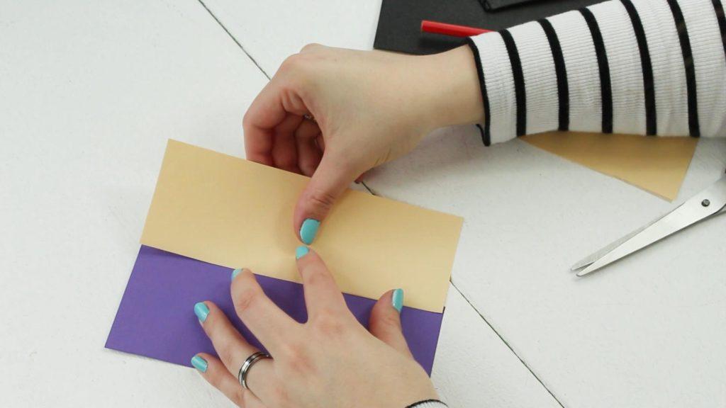 Osterbild basteln - Anleitung
