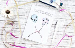 DIY Schüttelkarte zum Geburtstag basteln – mit dem Glam VIP von Schneider