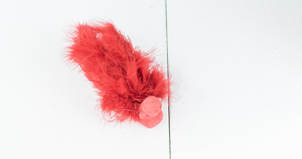 Vogel aus Fimo basteln - Schritt 3