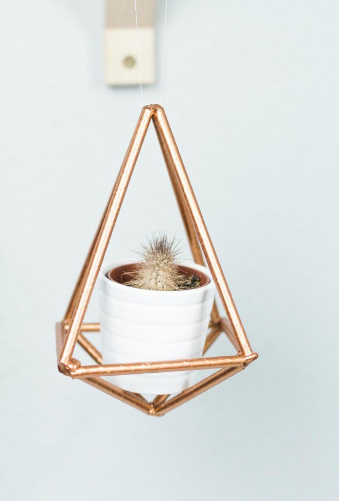 DIY Himmeli basteln - tolle DIY Deko Idee für euer Zimmer