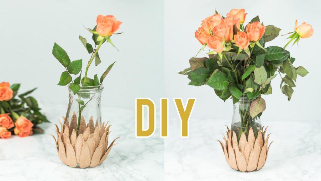 DIY Kupfer Vase basteln - Video Anleitung