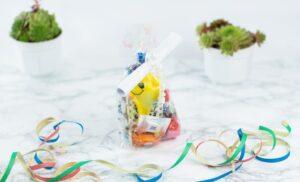 schöne DIY Geschenkidee: Motivationsbeutel basteln