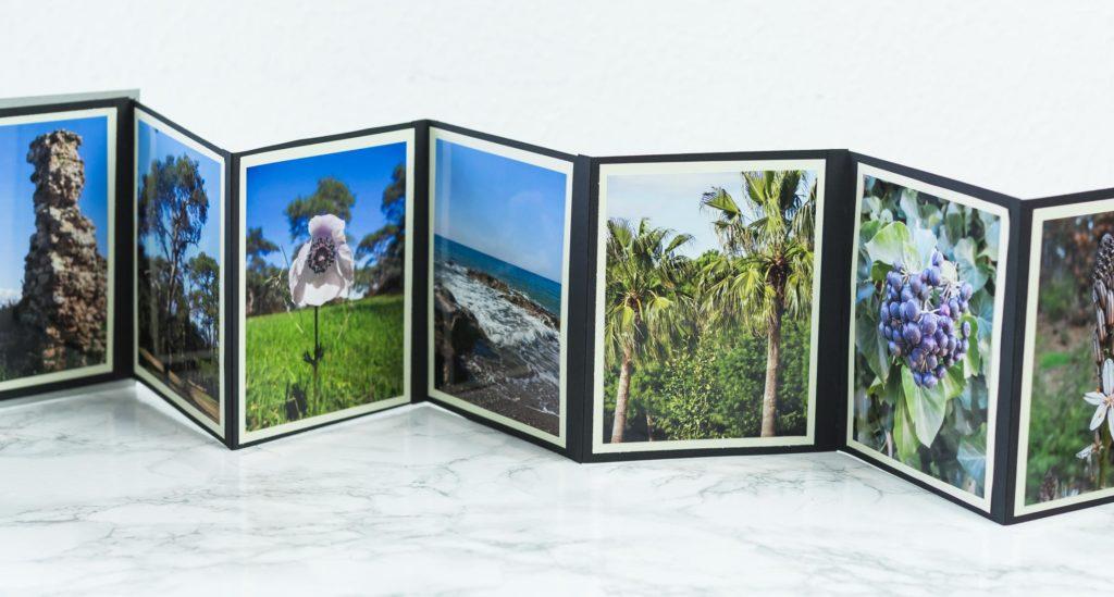 DIY Foto Leporello basteln - schöne, individuelle Geschenkidee